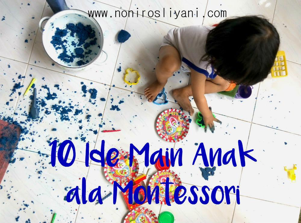 Ide Main Anak ala Montessori
