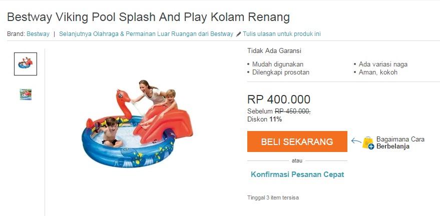 Viking Pool Splash