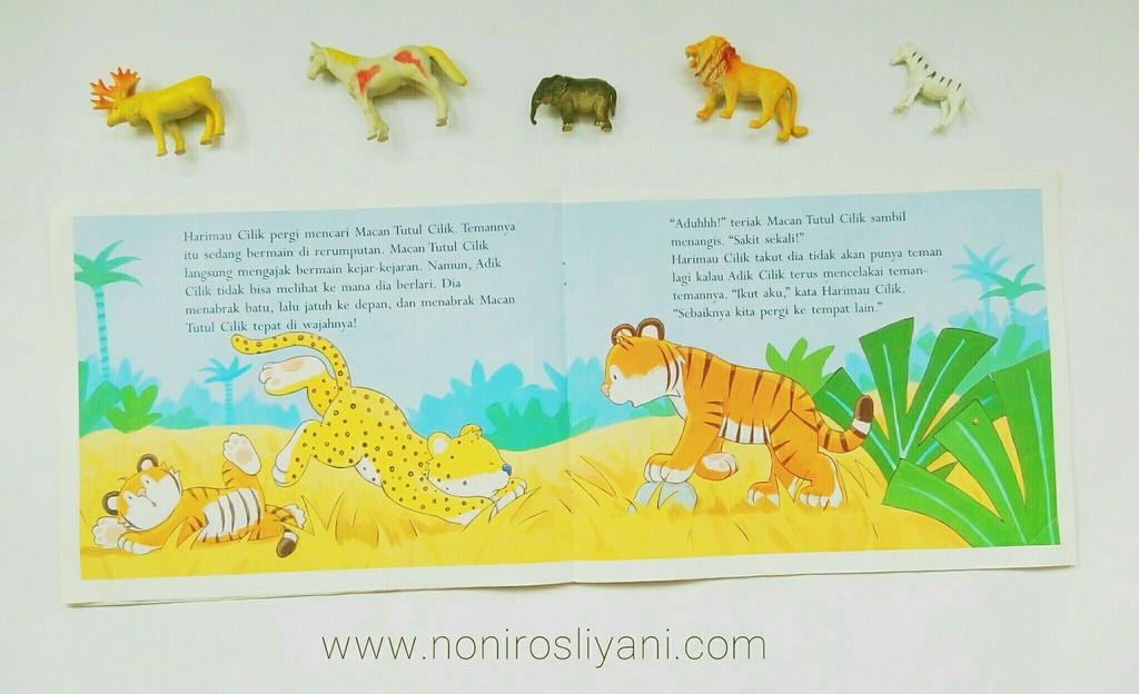 #1000BooksForKids: Tunggu Aku, Harimau Cilik!