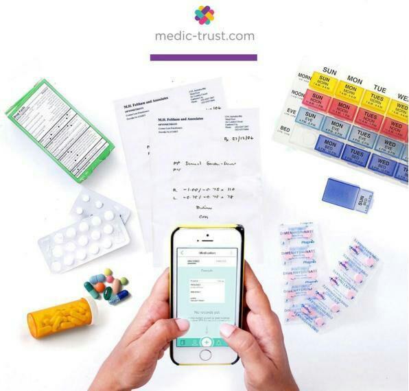 Mencatat Riwayat Kesehatan dengan MedicTrust