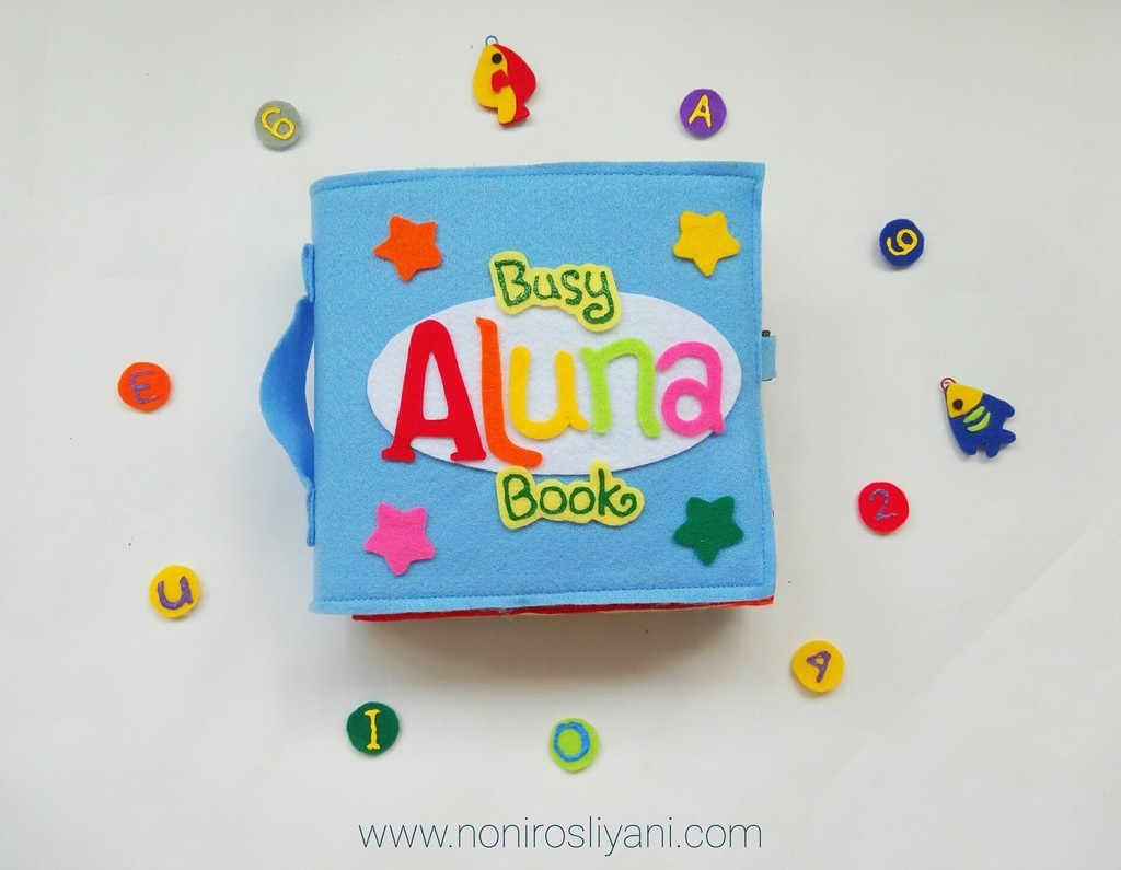 Review Busy Book Aluna