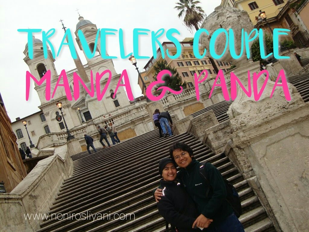 Travelers Couple: Manda dan Panda