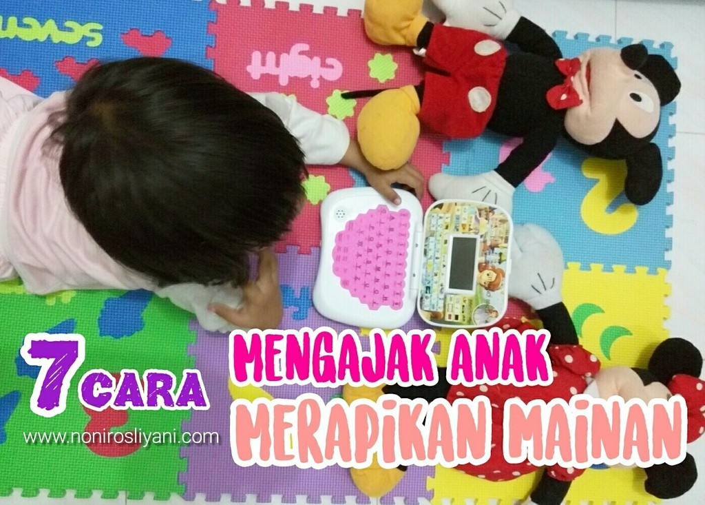 7 Cara Mengajak Anak Merapikan Mainan