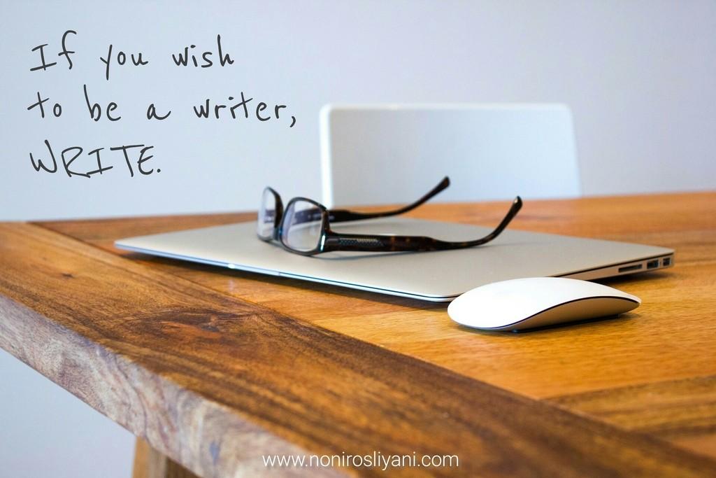 Saya tidak percaya writers block
