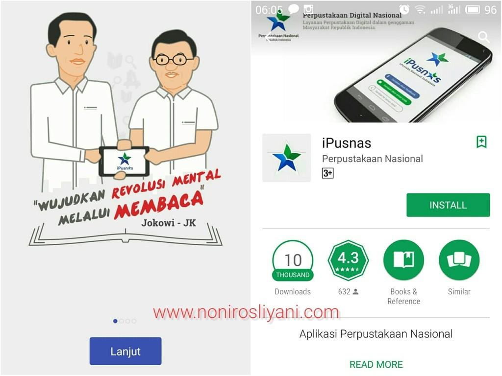 Application Review: iPusnas, Perpustakaan di Genggaman Tangan