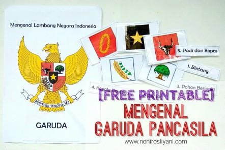 Free Printable Mengenal Garuda Pancasila