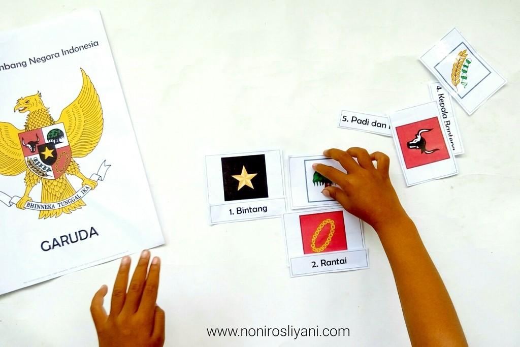 [Free Printable] Mengenal Garuda Pancasila