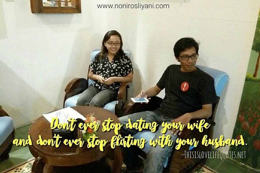 Mencari Waktu Pacaran untuk Suami-Istri