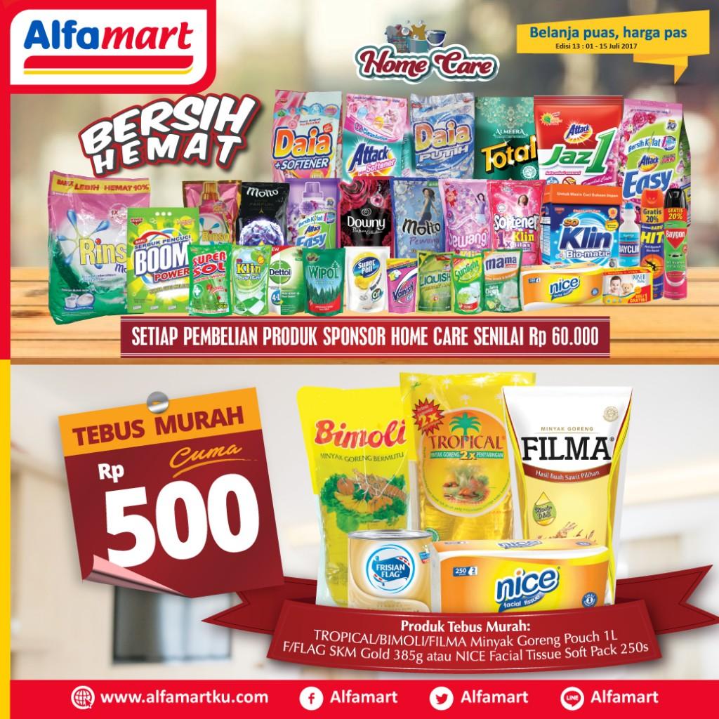 Promo Bersih Hemat Alfamart