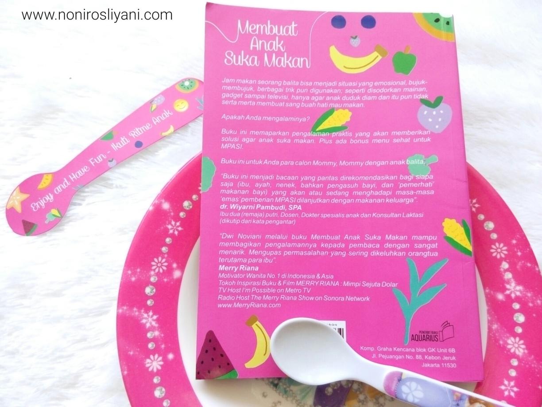 Review Buku Membuat Anak Suka Makan