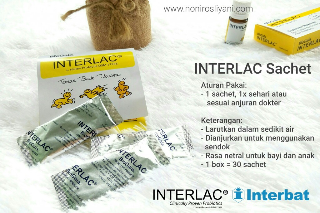 aturan pakai dan kegunaan interlac sachet