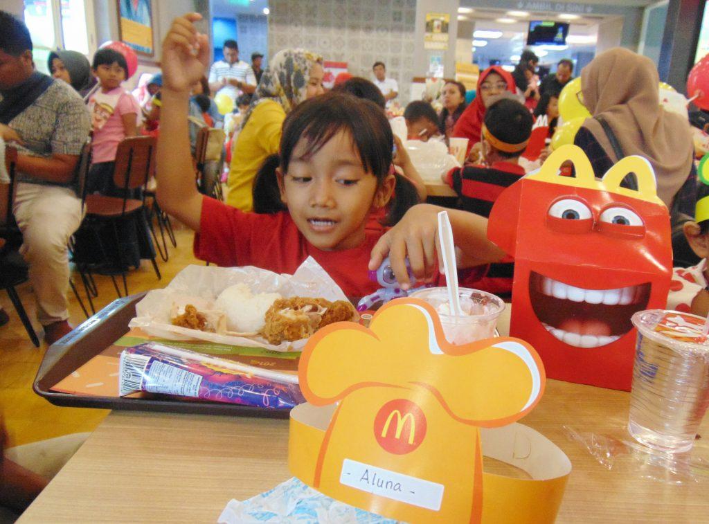 playdate di McDonalds bersama Apple Kids